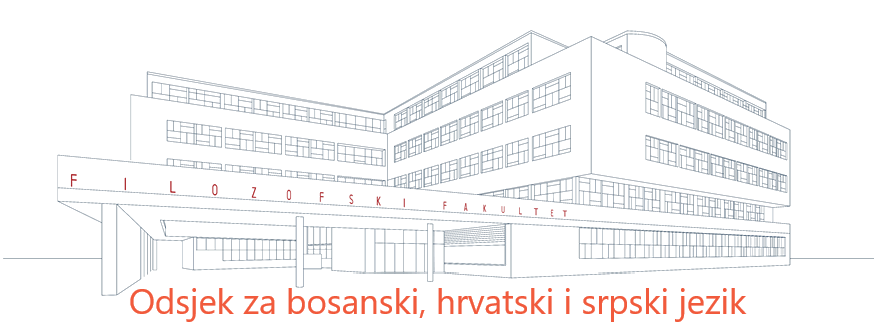 Odsjek za bosanski, hrvatski i srpski jezik