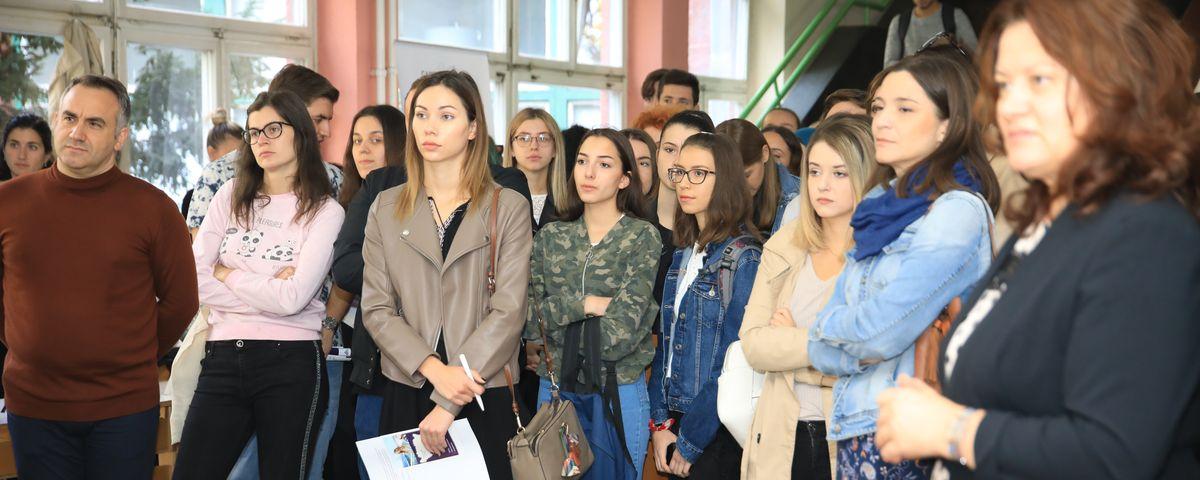 Sajam francuskih univerziteta na Filozofskom fakultetu Univerziteta u Sarajevu